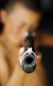 Gun Pointing at Zombie