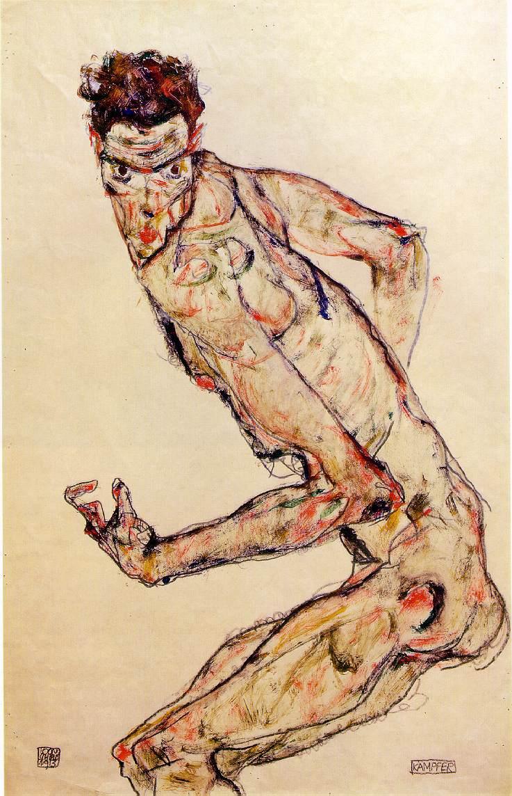 Zombie Egon Schiele