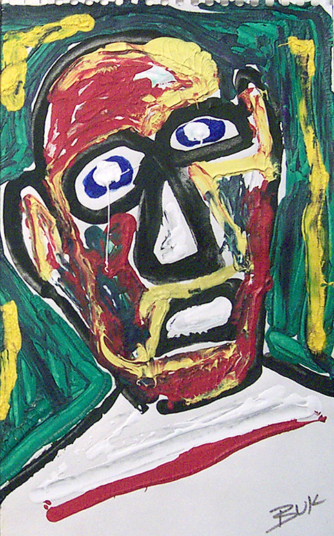 Charle Bukowski Self Portrait